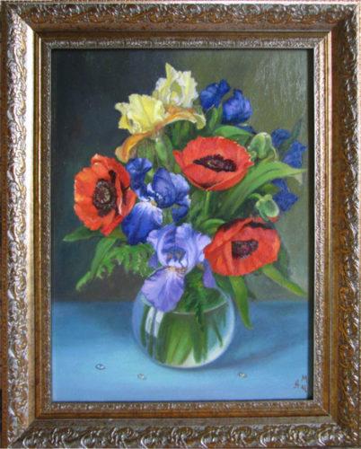 картина в подарок. живопись маслом на холсте. картина для интерьера.